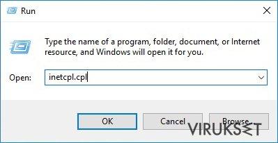 Kuinka resetoida Internet Explorer? kuvankaappaus