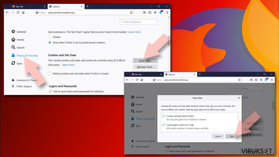 Nollaa Mozilla Firefox