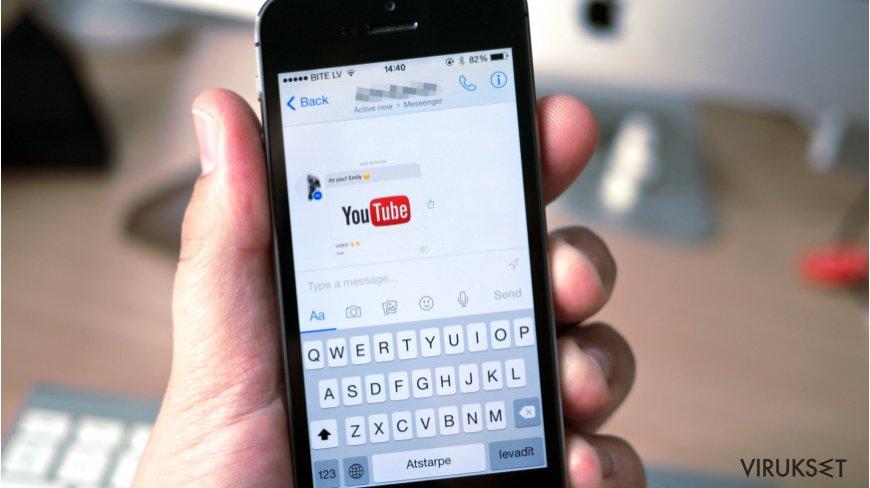 Uusi Facebook Messenger virus hyökkäys toimittaa tekaistuja videolinkkejä