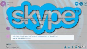 Vaaralliset linkit ovat merkki uudesta Skype viruksen puhkeamisesta