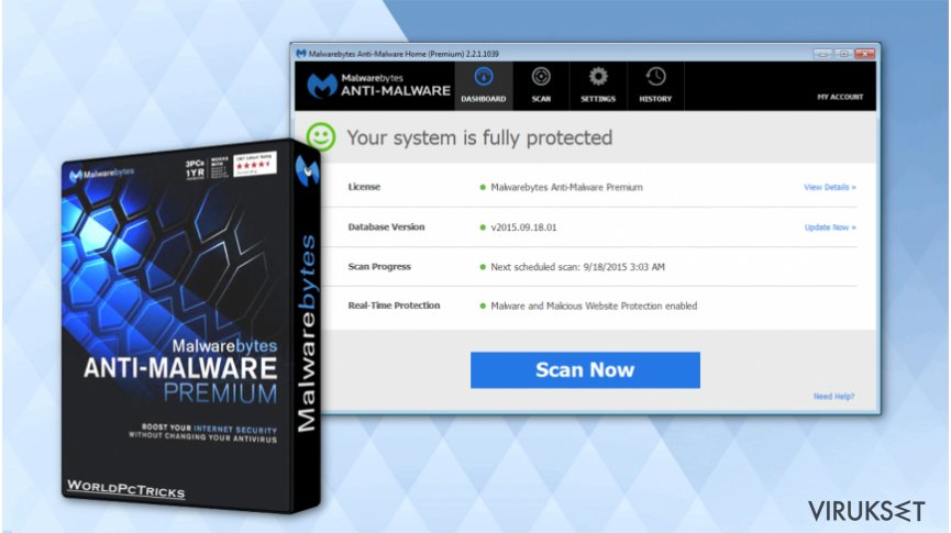 Get Malwarebytes Anti-malware software for free