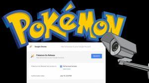 Suosittu Pokemon Go ja sen yksityisyyden ongelmat