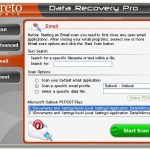 Data Recovery Pro kuvankaappaus