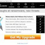 Malwarebytes Anti Malware kuvankaappaus