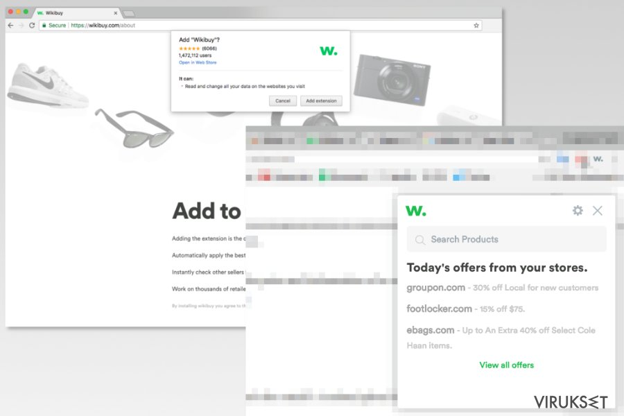 Image of Wikibuy installation