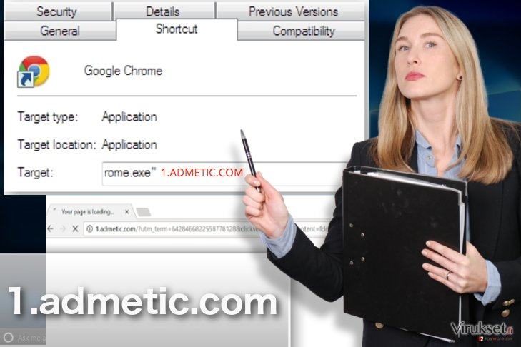 1.admetic.com viruksen esimerkki