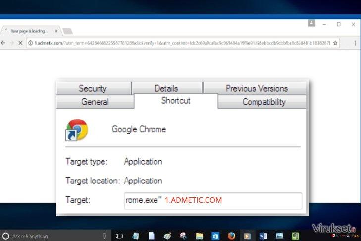 1.admetic.com virus