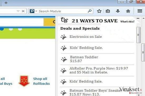 21 Ways To Save Deals and Specials kuvankaappaus