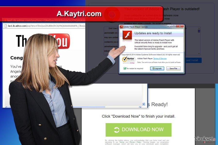 A.Kaytri.com pop-up mainosten kuva
