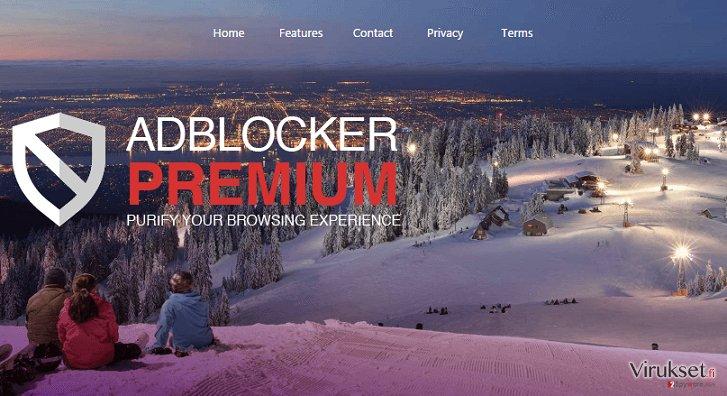 AdBlockerPremium mainokset kuvankaappaus