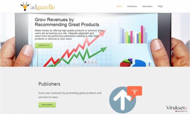 AdGazelle mainokset kuvankaappaus