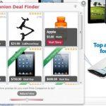 Amazon Deal Finder mainokset kuvankaappaus