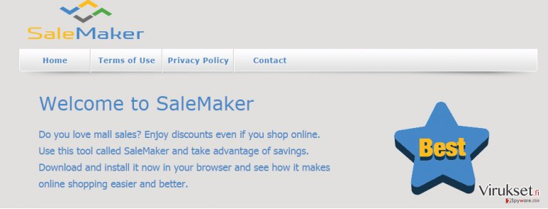 SaleMaker mainokset kuvankaappaus