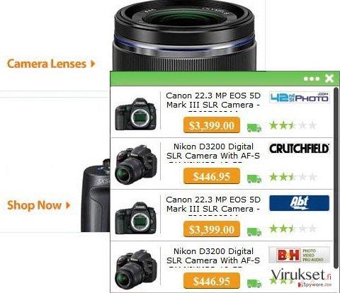 WebSize mainokset kuvankaappaus
