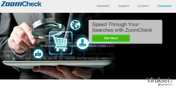 ZoomCheck mainokset kuvankaappaus