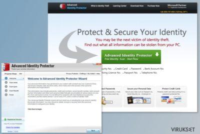 Advanced Identity Protector ohjelma