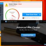Advanced Mac Cleaner virus kuvankaappaus