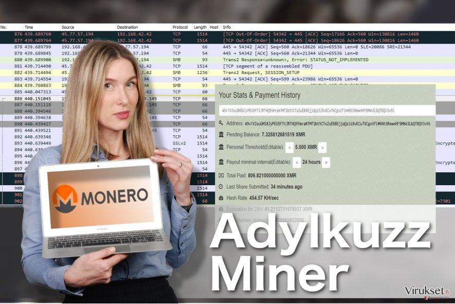 Adylkuzz Miner viruksen kuva