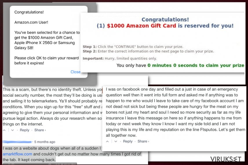 Amarktflow tekaistu palkintokampanja