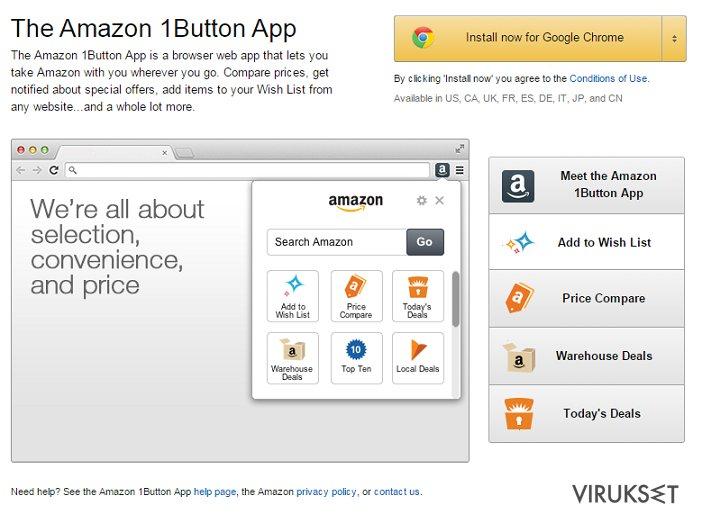 Amazon 1Button App ads