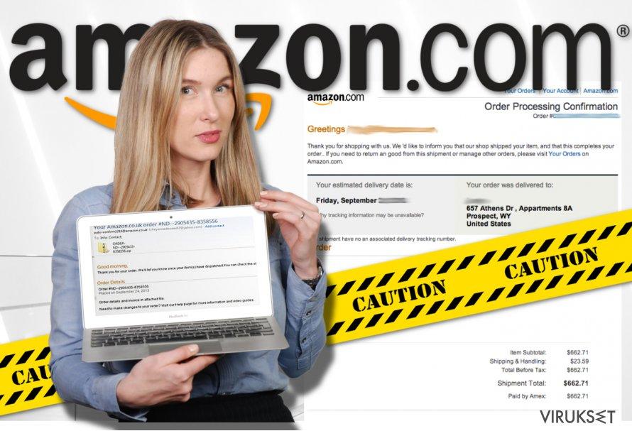 Amazon virus kuvankaappaus
