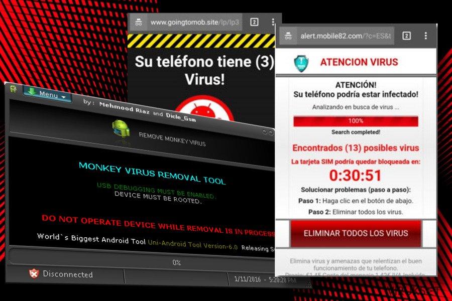 Android Virus Poisto