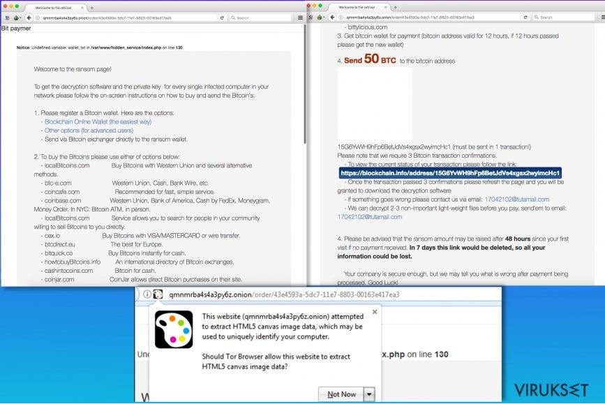 Bitpaymer lunnasohjelma