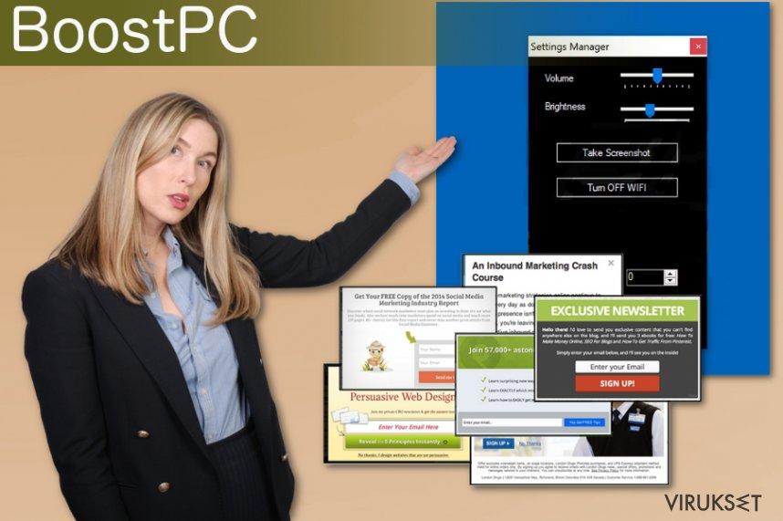 BoostPC mainosohjelma
