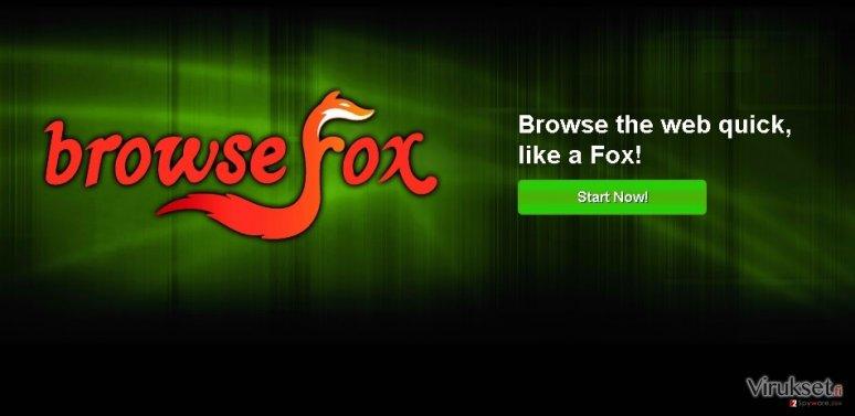 BrowseFox kuvankaappaus