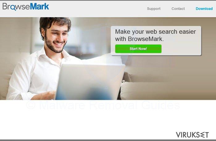 BrowseMark virus kuvankaappaus