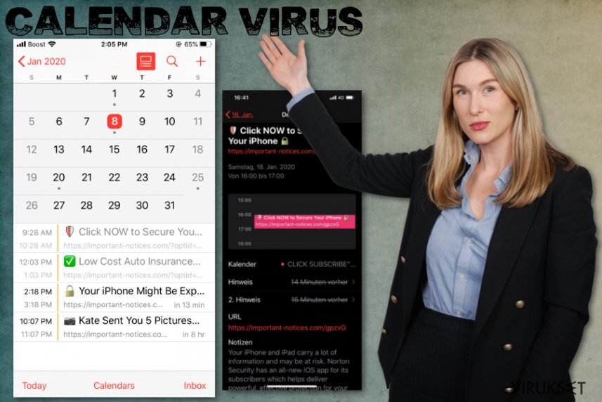 Calendar virus