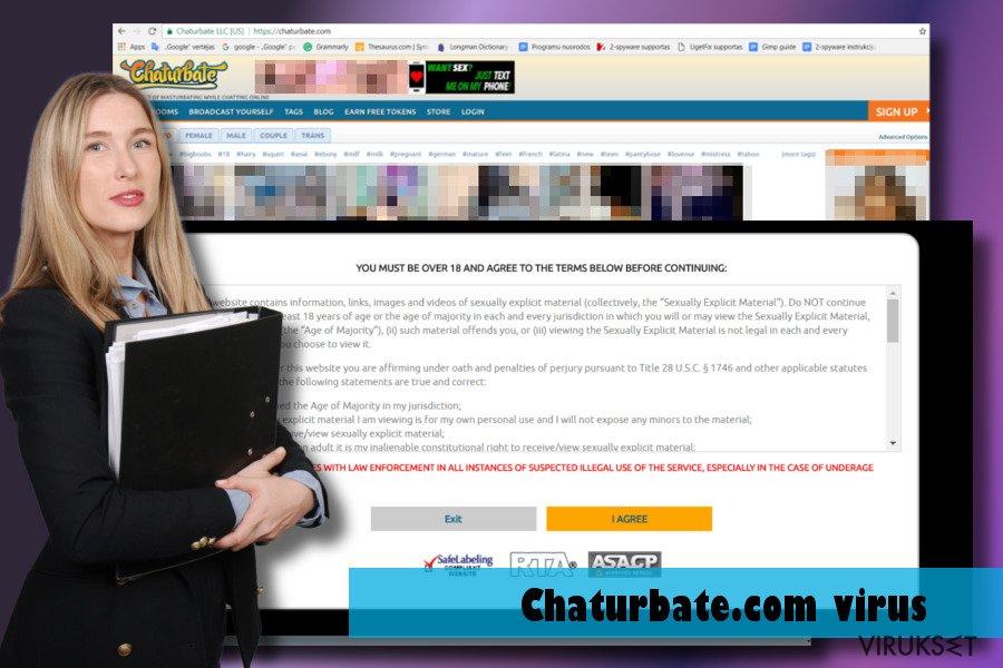 Chaturbate.com virus