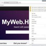 MyWeb.House virus kuvankaappaus