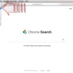 Chromesearch.win virus kuvankaappaus