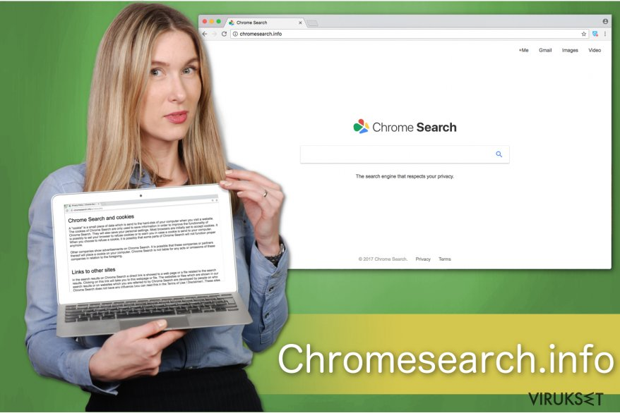 Kuva Chromesearch.info hakukoneesta