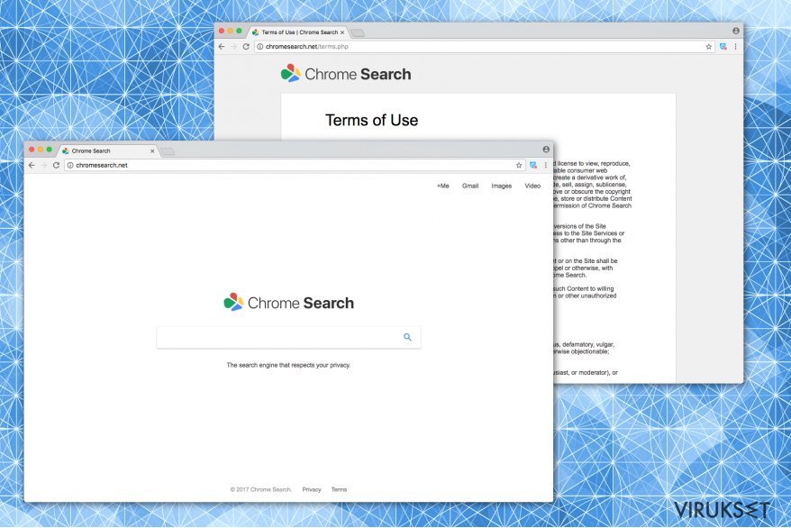 Chromesearch.net kuva