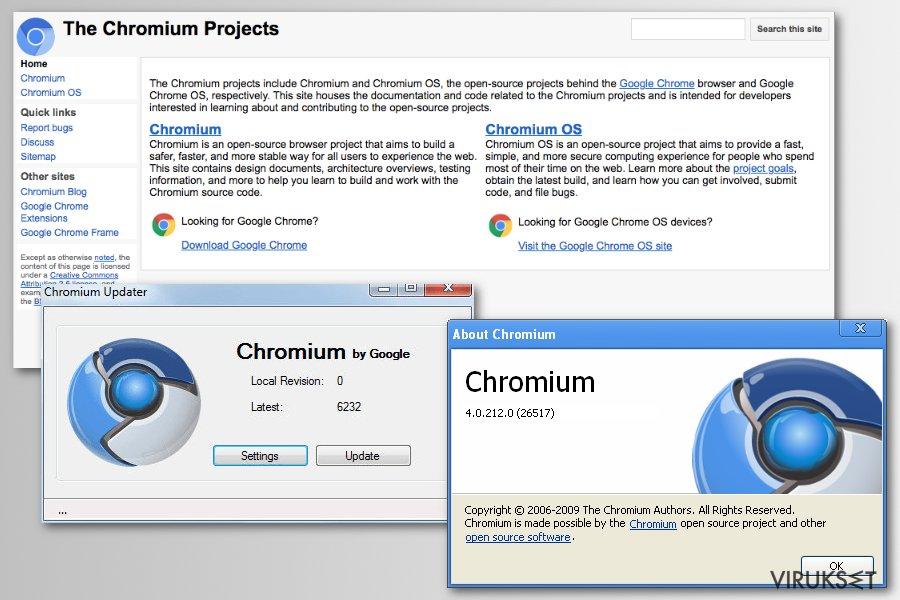 Chromium projekti