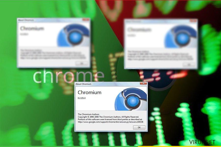 Kuva, jossa Chromium
