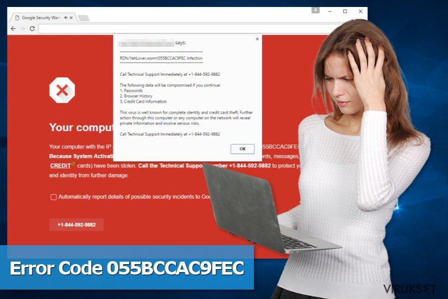 Code 055BCCAC9FEC huijauksen kuva