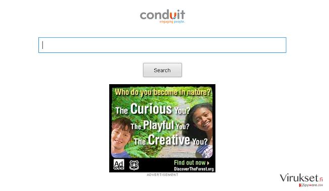 Storage.conduit.com uudelleenohjaus kuvankaappaus