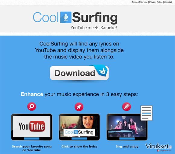 CoolSurfing kuvankaappaus