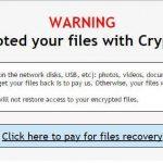 Crypt0L0cker virus kuvankaappaus