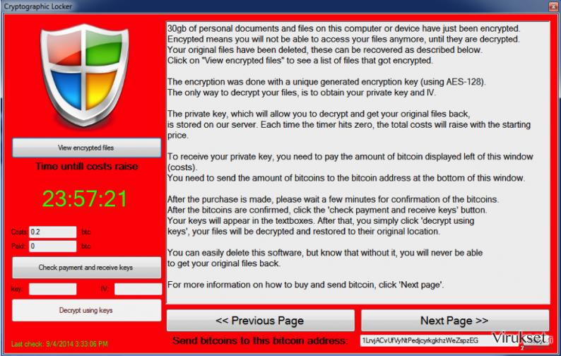 Trojan.LockScreen kuvankaappaus