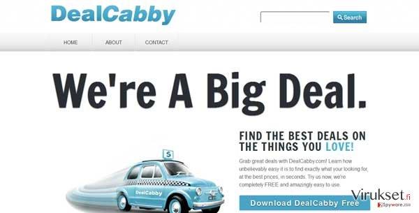 DealCabby virus kuvankaappaus