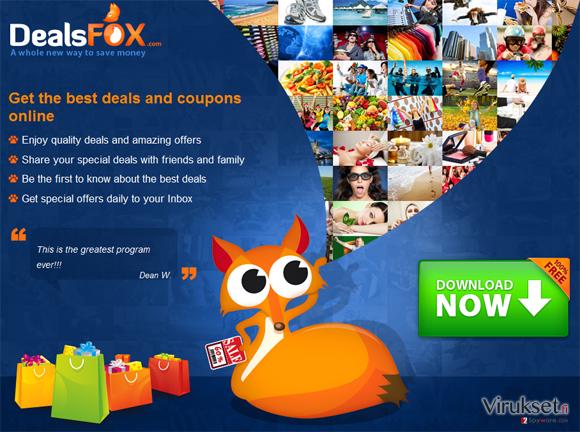 DealsFox kuvankaappaus