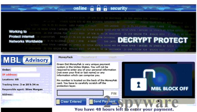 Decrypt Protect virus kuvankaappaus