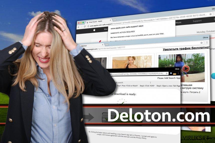 Deloton.com mainokset