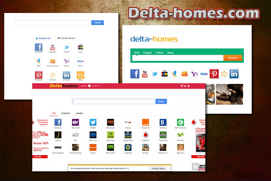Delta-homes.com kuvankaappaus