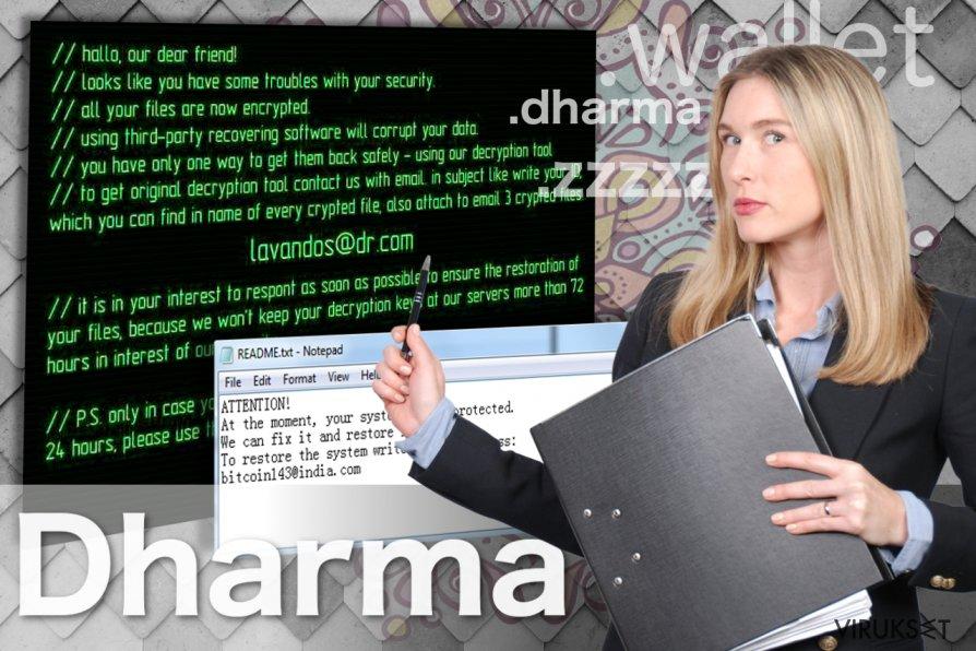 Dharma lunnasohjelma virus kuvankaappaus