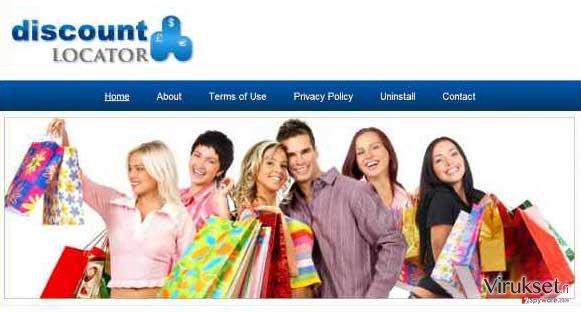 Discount Locator mainokset kuvankaappaus